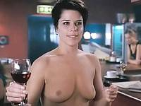 Neve Campbell exposes sweet breasts and tight ass