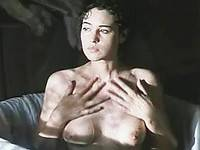 Monica Bellucci advanced gorgeous boobs in a bath