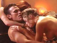 Denise Richards nude and having wild threesome sex
