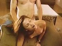 Nude Kari Wuhrer gets fucked wildly in doggy style