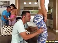 Panties off. Sabby Victor Solo Ally Julia Roca