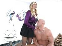 Christian XXX, Julia Ann. strap attackers