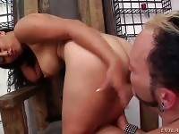 Obedient Slave Worships His Latin Mistress 2