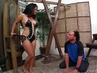 Big Shaped Latina Loves To Be In Charge 2