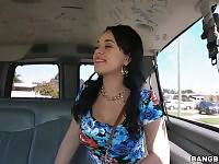Cuban Babe deserving of dick gets picked up