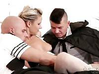 DP THE NANNY WITH ME #03, SCENE #04. Ricky Silverado, Neeo, Samantha Jolie