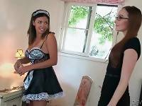Pussy Hungry Milf Seduces Her Awesome Maid 2
