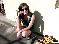 Peter Green Makes Friends With Hot Gia Paige 2