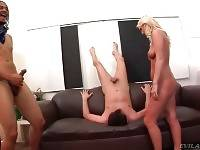 Bitchy Blonde Humiliates Her White Cuckold 2