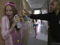 Rocco\\\'s Psycho Teens #04, Scene #03. Kid Jamaica, Stacy Snake , Diamond Cross