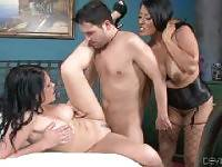 Courtney Taylor Unleashed, Scene #02. Mark Wood, Jon Jon, Courtney Taylor, Whitney William